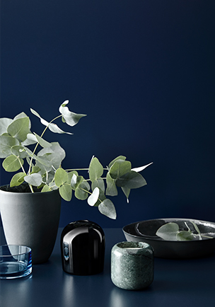 Still life featuring Laminex Colour Collection French Navy