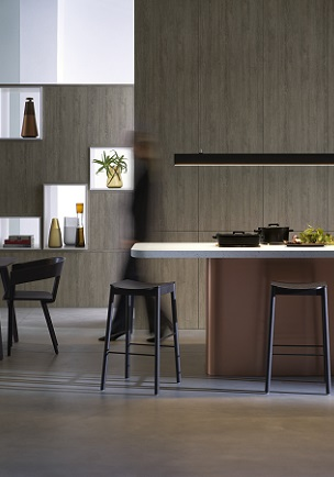 Laminex kitchen designed by Chris Connell